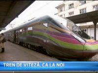 Romania absurda: Cel mai rapid tren electric facut la noi merge cu 20 de km/h intre Craiova si Bucuresti