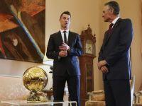 Cristiano Ronaldo, decorat de presedintele Portugaliei