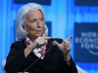 Lagarde contrazice tonul optimist de la Davos si avertizeaza asupra somajului si deflatiei: Trebuie sa fim atenti la aparitia unor bule speculative