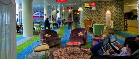 Cele mai interesante birouri din lume. Companiile care si-au mutat angajatii in padure sau le-au construit propriul cartier. GALERIE FOTO