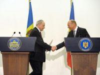 """Basescu spune ca, din 2019, Romania va acoperi integral nevoile R.Moldova pentru consumul de gaze. """"Slava Domnului, avem capacitati mult mai mari decat nevoile noastre"""""""