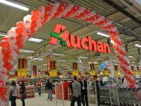 Afacerile Auchan in Romania s-au dublat anul trecut, la 4,6 mld. lei, dupa preluarea Real. Retailerul francez analizeaza intrarea pe comertul online din 2015