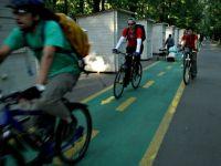 98 kilometri de piste noi pentru biciclete in Capitala