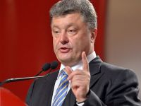 Petro Porosenko a obtinut 55,9% in scrutinul prezidential din Ucraina.  Prioritatile mele sunt sa pun capat razboiului si sa duc tara in UE