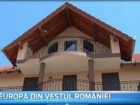 """""""Multumim, Europa!"""" Cum a transformat intrarea in UE satul romanesc, unde localnicii ridica vile in stil mediteranean si s-au facut antreprenori cu banii munciti in strainatate"""
