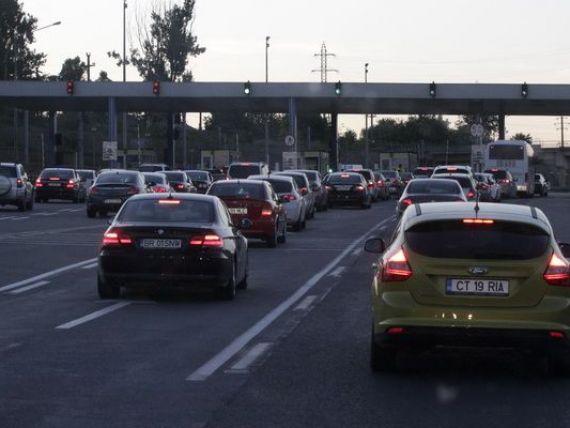 Sistem informatic de plata la trecerea podurilor peste Dunare, intre Fetesti si Cernavoda, de vineri. Care este tariful si cum poate fi achitat
