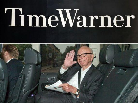 Rupert Murdoch si-a retras oferta pentru a cumpara Time Warner, estimata la 80 de miliarde de dolari