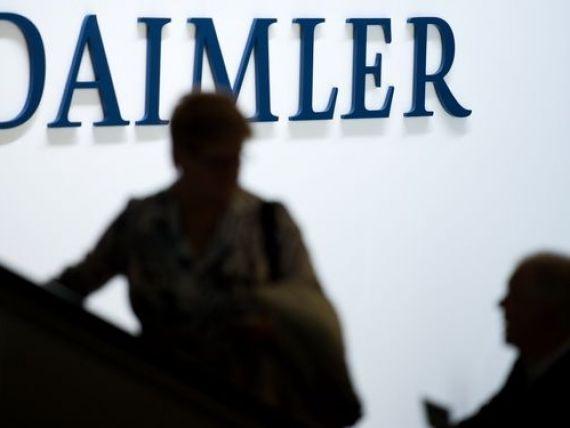 Daimler dezminte ca a folosit dispozitive care permit incalcarea standardelor de mediu la Mercedes