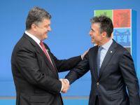 NATO va oferi Ucrainei un ajutor de 15 mil. euro, pentru reforme in domeniul Apararii. Unele state ar putea furniza Kievului arme letale