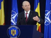 Basescu: 99,9% nu va fi o agresiune a Rusiei impotriva Romaniei. Dupa Summitul NATO, suntem o tara care va fi aparata in orice scenariu in care ar fi atacata