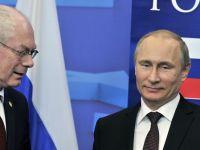 Noi sanctiuni de la UE pentru Rusia, care lovesc gigantii petrolieri si zeci de oameni de afaceri cu averi mari. Moscova riposteaza, amenintand ca va interzice si alte produse din Europa