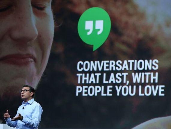 Google lanseaza un rival pentru Skype. Motorul de cautare permite efectuarea de apeluri vocale gratuite pe internet, prin intermediul aplicatiei Hangouts