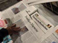 Publisherul ziarului german Frankfurter Allgemeine Zeitung desfiinteaza 200 de locuri de munca