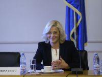 Corina Cretu si-a prezentat echipa cu care va lucra la Bruxelles. Din ea fac parte Dragos Bucurenci si nepoata ministrului Transporturilor Ioan Rus