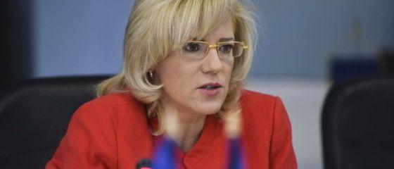 Corina Cretu, in prima vizita oficiala in Romania, in calitate de comisar european. Care sunt  nevoile stringente  identificate de CE pentru tara noastra