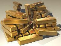 Pretul aurului, la cel mai inalt nivel din ultimele luni, ca urmare a unor date sub asteptari din SUA