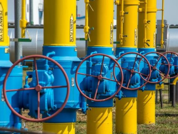 Ucraina a platit transa de 1,65 mld. dolari catre Gazprom, pentru livrarea de gaze