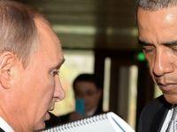 """Obama il ironizeaza pe Putin: Nu este un """"maestru al sahului"""". """"El este capul prabusirii monedei sale, unei crize financiare majore si unei contractii economice enorme"""""""