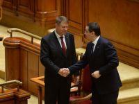 Presedintele a inceput a treia serie de consultari cu partidele parlamentare, la Cotroceni. Reforma electorala si blocarea cererilor justitiei in Parlament, pe agenda