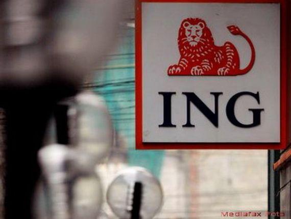 Profitul ING Bank a crescut in 2014 cu 19%, la 340 mil. lei; costurile cu provizioanele, in scadere