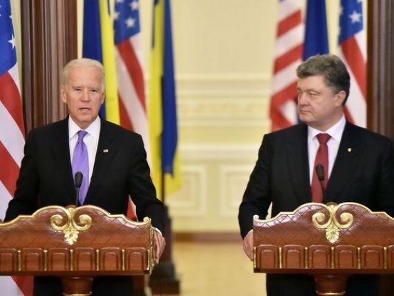 Vicepresedintele SUA, Joe Biden, ameninta Moscova: Pretul pe care Rusia il va plati  va continua sa creasca