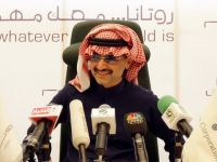 Printul miliardar saudit Al-Waleed bin Talal isi lanseaza propria televiziune de stiri. Alarab va difuza 5 ore de informatii economice pe zi, in colaborare cu Bloomberg