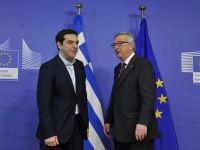 Junker: Grecia sa nu se astepte ca zona euro sa se incline in fata premierului Tsipras. Marea Britanie discuta planul pentru posibila iesire a Atenei din blocul unic