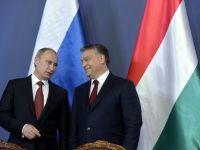Rusia si Ungaria au semnat acorduri comerciale in domeniul gazelor si cel nuclear, pe fondul racirii relatiilor cu UE. Ungurii contesta apropierea lui Orban de Putin