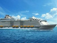 Cel mai mare vas de croaziera din lume va putea transporta 5.500 de pasageri si 2.400 de membri ai echipajului. Romanii isi pot face rezervari din toamna
