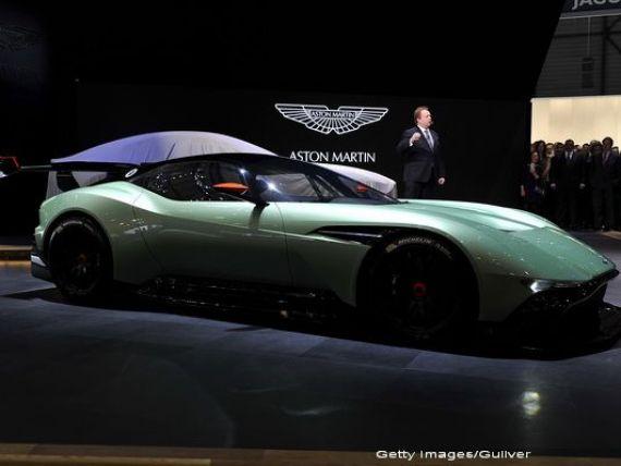 Aston Martin ar putea construi o uzina in Macedonia