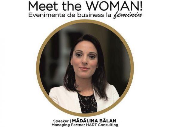 Latura intunecata a antreprenorului, o perspectiva psihologica  cu Madalina Balan, Managing Partner HART Consulting, speaker la Meet the WOMAN!