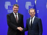 Iohannis a plecat la Consiliul European. Discutiile vizeaza crearea Uniunii energetice, acordul comercial cu SUA si situatia din Ucraina. Agenda summitului
