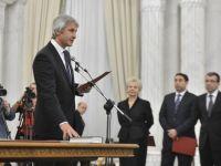 Eugen Teodorovici si Marius Nica au depus juramantul la Palatul Cotroceni in functiile de ministri la Finante si Fonduri Europene