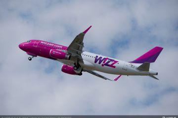 Wizz Air adauga inca doua destinatii cu plecare din Craiova, incepand din martie 2017