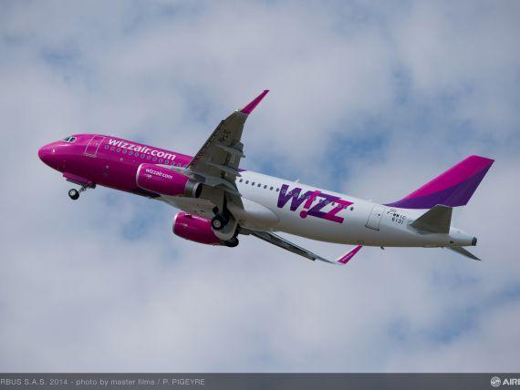 Wizz Air suplimenteaza zborurile catre Londra. Numarul curselor saptamanale ajunge la 25
