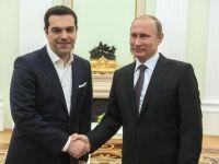 Tsipras: Razboiul economic al UE impotriva Rusiei poate duce la un nou Razboi Rece. Grecia vrea sa fie punte de legatura intre Europa si Moscova, in problema sanctiunilor