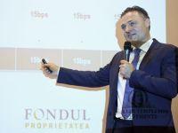 Fondul Proprietatea a avut pierderi de peste 150 mil. euro in primul trimestru, de opt ori mai mari fata de 2014, dupa trecerea la alta metodologie internationala de contabilitate