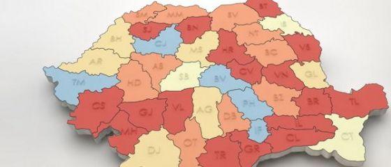 Harta salariilor din Romania. Cati romani primesc peste 5.000 de lei si cati sunt platiti cu minimul pe economie