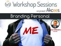 Workshop Sessions, primul pas in construirea brandului personal