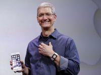 Apple anunta profit in crestere cu 33%, pe fondul exploziei de vanzari in Asia. Livrarile de iPhone in China le-au devansat pentru prima data pe cele din SUA