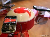 Veniturile din servicii ale Vodafone Romania au crescut cu 5,6%, in timp ce compania mama raporteaza prima crestere din 2008