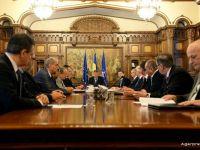 Iohannis: Pentru Romania o viziune economica sanatoasa inseamna un mediu de afaceri concurential