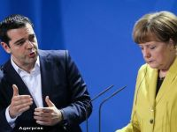 Atena vrea sa intre in programul de relaxare cantitativa al BCE. Discutii prelungite, la Riga, intre Tsipras, Merkel si Hollande despre situatia ingrijoratoare a Greciei