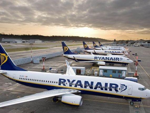 Ryanair tinteste pentru 2018 locul trei in topul liniilor aeriene ce activeaza in Romania. Ce planuri are cel mai mare operator low-cost din Europa pe piata locala