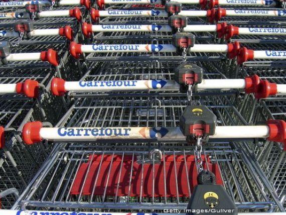 Carrefour România estimează o creştere a cifrei de afaceri cu 4-5% în acest an și mizează pe deschiderea de noi magazine