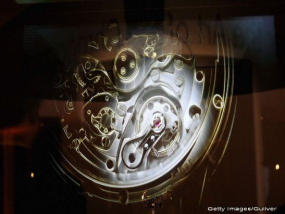 Aprecierea francului a dat o lovitura dura. Exporturile de ceasuri elvetiene, prima scadere anuala de dupa 2009