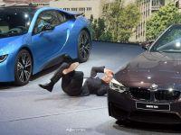 Seful BMW a lesinat in timpul unei conferinte la Salonul de la Frankfurt