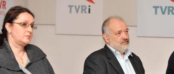 Irina Radu, numita interimar la sefia TVR, dupa ce conducerea a fost demisa. Raportul de activitate pe 2014 al SRTV, respins de Parlament