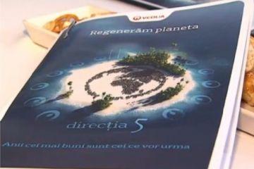 (P)  Regeneram planeta , campania prin care Veolia ajuta la reciclarea apei si la protejarea resurselor. Directia 5, ambasadoarea programului