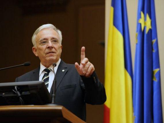 Isarescu: Revenirea inflatiei ar putea insemna o inasprire a politicii monetare in Romania mai devreme decat se estima